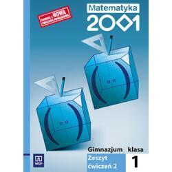 Matematyka 2001 Zeszyt ćwiczeń dla klasy 1. gimn. Cz 2.