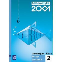 Matematyka 2001 Zeszyt ćwiczeń dla klasy 2. Część 1.