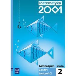 Matematyka 2001 Zeszyt ćwiczeń dla klasy 2. Część 2.