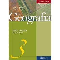 Geografia 3. Zeszyt ćwiczeń. Stara podstawa programowa