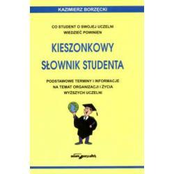 Kieszonkowy słownik studenta. Co student o swojej