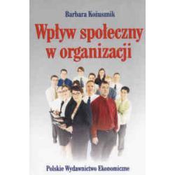 Wpływ społeczny w organizacji