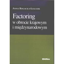 0 Factoring w obrocie krajowym i międzynarodowym