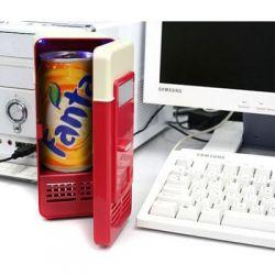 Lodówka USB Zimne piwko lub cola zawsze pod ręką!
