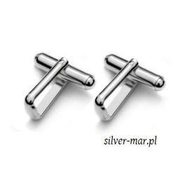 Srebrne spinki mankietowe baza MT- Ag925 Biżuteria - półprodukty