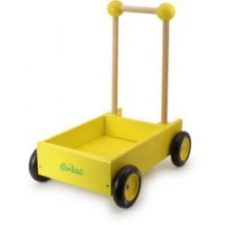 Drewniany wózek do ciągnięcia lub pchania