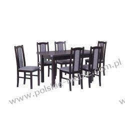 Stół WENUS 2L + krzesła BOSS 7 (6szt.) - zestaw DX22