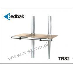 TRS2 Półka szklana z rączką oraz z możliwością regulacji położenia