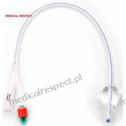 Cewnik urologiczny typu Foley 100% SILIKONU od CH-08 do CH-24