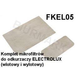 Komplet mikrofiltrów FKEL05 do odkurzaczy odkurzacza ELECTROLUX