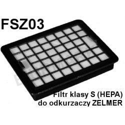 Filty klasy S HEPA do odkurzaczy odkurzacza ZELMER - FSZ03