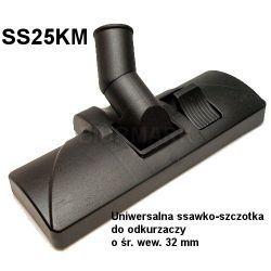 Uniwersalna ssawko-szczotka do odkurzaczy o śr. 32 mm - SS25KM