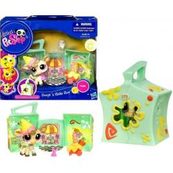 Littlest Pet Shop - Mini Domki - Lodziarnia