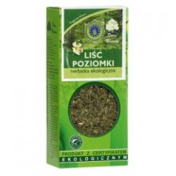 LIŚĆ POZIOMKI herbatka ekologiczna