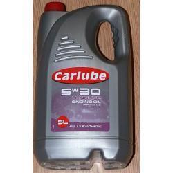 Olej silnikowy CARLUBE 5W30 LONG LIFE  5l