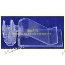 uchwyt regulow nasadowy kosz krawedz do 20mm ramki plastik plakat 432
