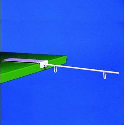 ramie metal poziom do wieszania reklam baner magnes 1kpl 300