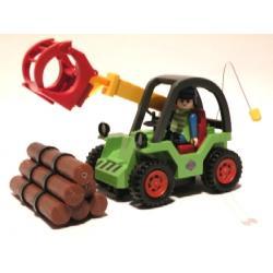 Zabawka zdalnie sterowana - ładowarka do drewna