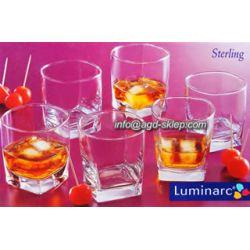 Szklanki 6szt. Sterling niskie 0,3L Luminarc