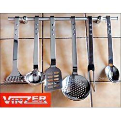 Zestaw łyżek kuchennych Vinzer na wieszaku Łopatki i łyżki kuchenne
