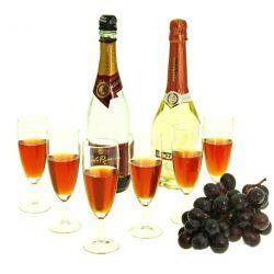 Kieliszki 6 kieliszków do szampana Flute Grille