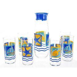Zestaw do napojów 7cz szklanki Rotterdam Luminarc
