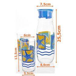Zestaw do napojów 6cz szklanki Rotterdam Luminarc