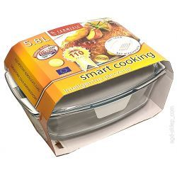 Naczynie żaroodporne 5,8L grill Termisil Dom i Ogród