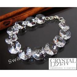 Bransoletka SWAROVSKI  octagon crystal 197