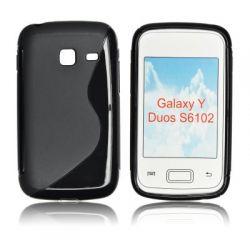 HQ S-LINE ETUI SAMSUNG S6102 GALAXY Y DUOS CZARNY