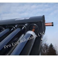 Magistrala zbiorcza do kolektora (15 rur - heat pipe)