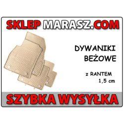 GUMOWE DYWANIKI Opel Insignia 2008-wz Beżowe GEYER