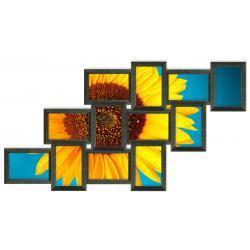 Galeria na 12 ramek ze zdjęciem 10 x 15 cm wzór 126 Akcesoria fotograficzne