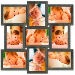 Galeria na 9 ramek ze zdjęciem 10 x 15 cm wzór 91 Akcesoria fotograficzne