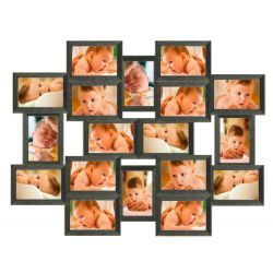 Galeria na 18 ramek ze zdjęciem 10 x 15 cm wzór 181 Akcesoria fotograficzne