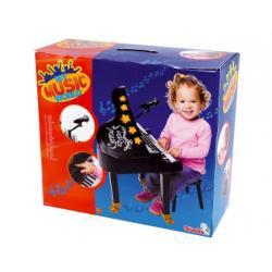 Simba - Fortepian dla dzieci, keyboard z mikrofonem i krzesłem
