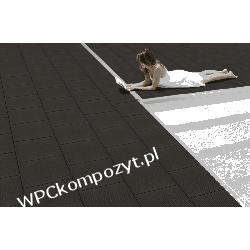Kaseta tarasowa WERZALIT, kompozyt drewna, WPC, 440x440mm - kolor carrbone