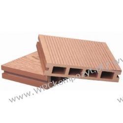 Deska tarasowa, kompozyt drewna, WPC, 135x27mm - 2,4/3/4/5,8m kolor grafitowy (WPC008)