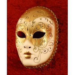 Karnawałowa maska wenecka Volto