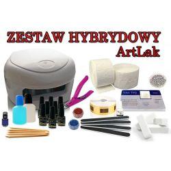 ArtLak Zestaw 9 x lakier hybrydowy lampa NOWOŚĆ!