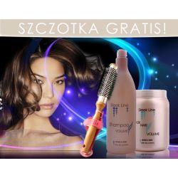VOLUME Szampon + Maska  + GRATIS szczotka  STAPIZ