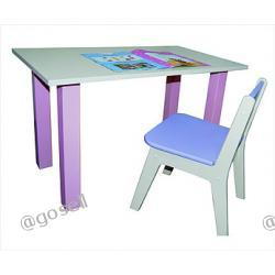 Stolik i dwa krzesełka - komplet