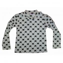 bluzka dziewczęca, półgolfik rozmiar 122-128