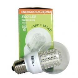 Żarówka 60 LED Eco-Led B60 E27 360st biała 240lm 9734