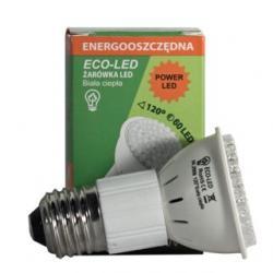 Żarówka 60 LED Eco-Led JDR E27 120st ciepła 250lm 0267