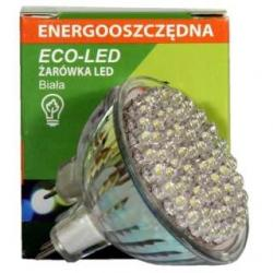 Żarówka 60 LED Eco-Led 12V MR16 60st biała 150lm 9666