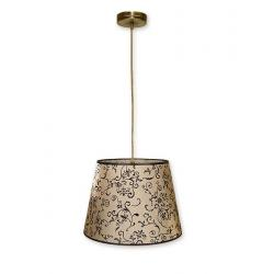 Lampa wisząca Lemir Miles patyna O1387 PAT