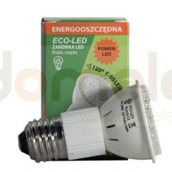 Żarówka 60 LED Eco-Led JDR E27 120st ciepła 250lm 0267...