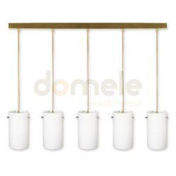 Lampa wisząca Lemir Samiro oliwkowa O1235/W5 OL...