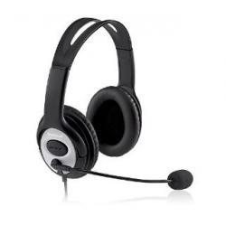 MS Słuchawki z mikrofonem LifeChat LX-3000 USB